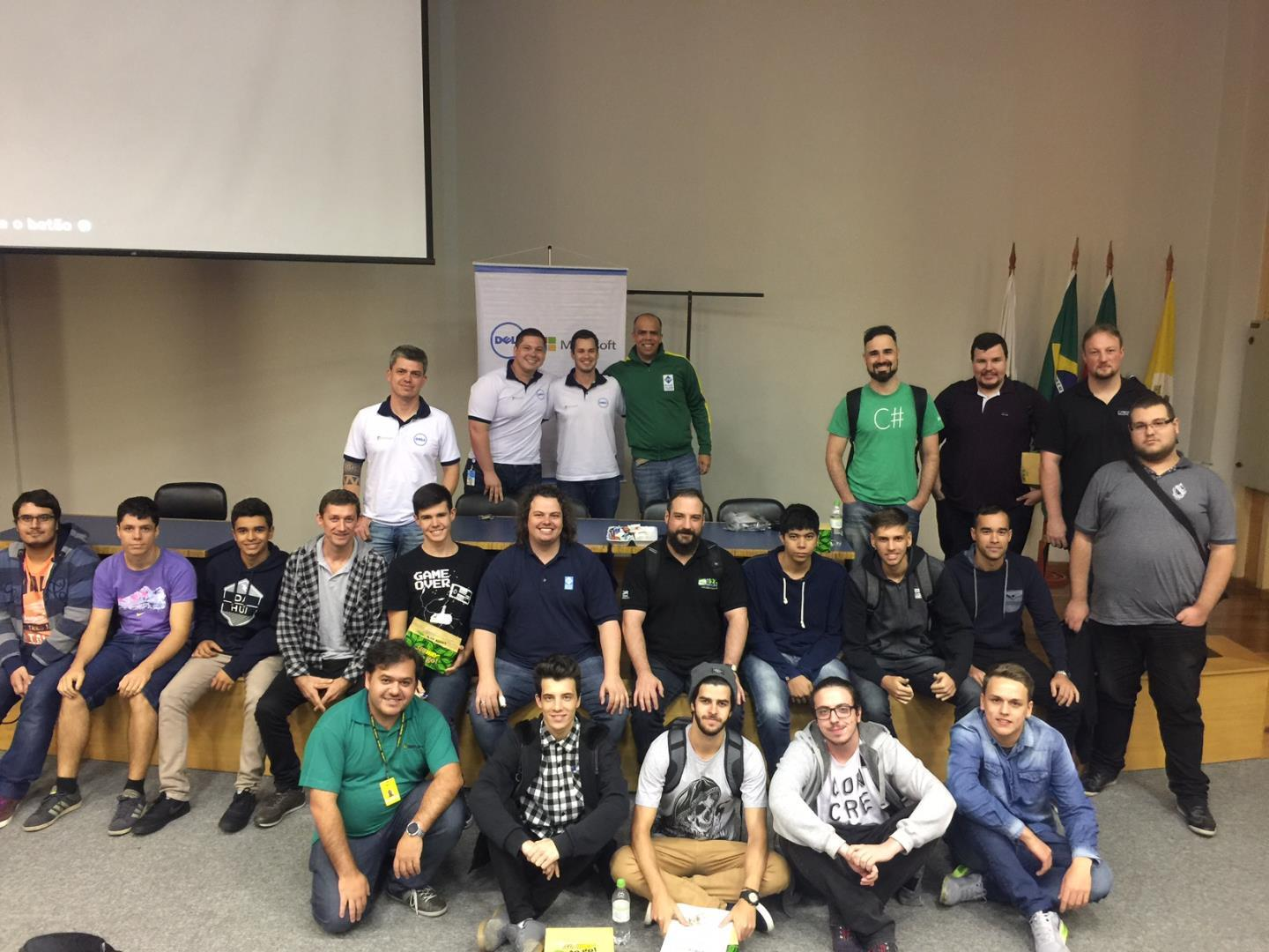 Alunos de Informática participam do Global Azure BootCamp