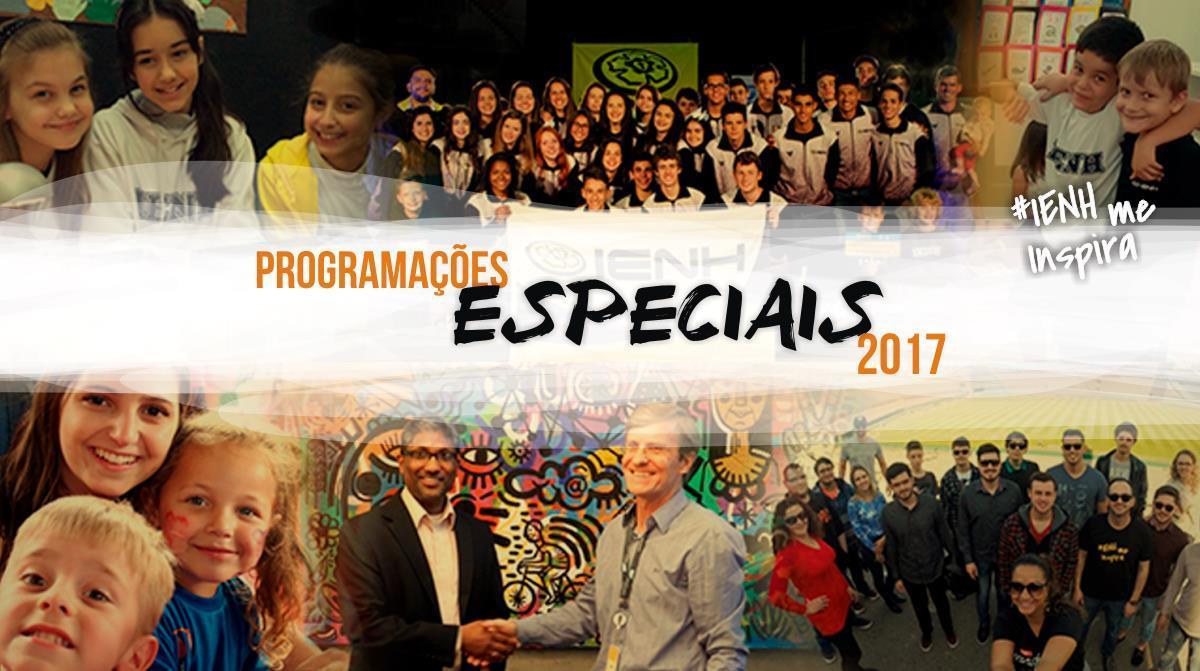 Ano de programações especiais na IENH