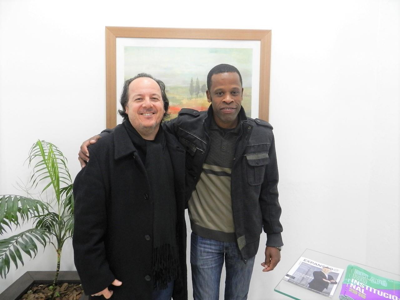 Bate-papo com aluno haitiano revela percurso até chegar à IENH