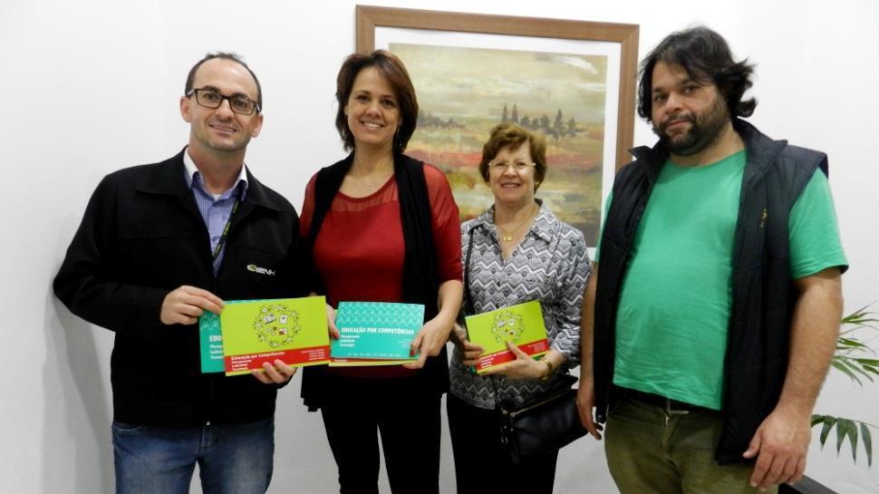 Coordenador do Centro de Educação Profissional da IENH escreve livro em parceria com mais autores