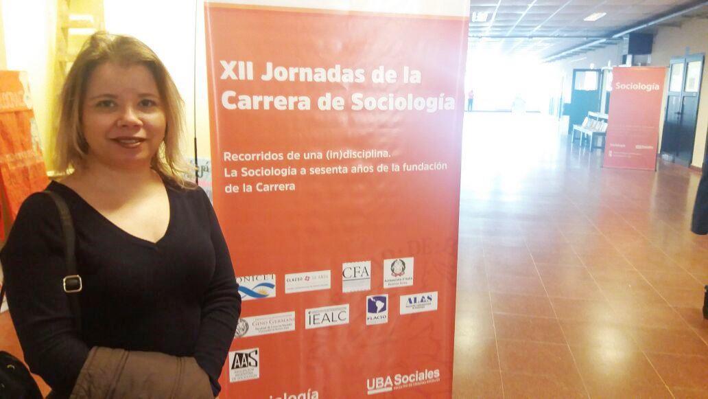 Coordenadora do Curso Técnico em Administração participa da XII Jornadas de Sociologia, na Argentina