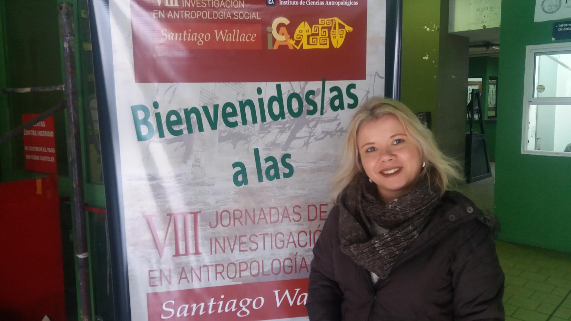 Coordenadora do Curso Técnico em Administração da IENH participa de Congresso na Argentina
