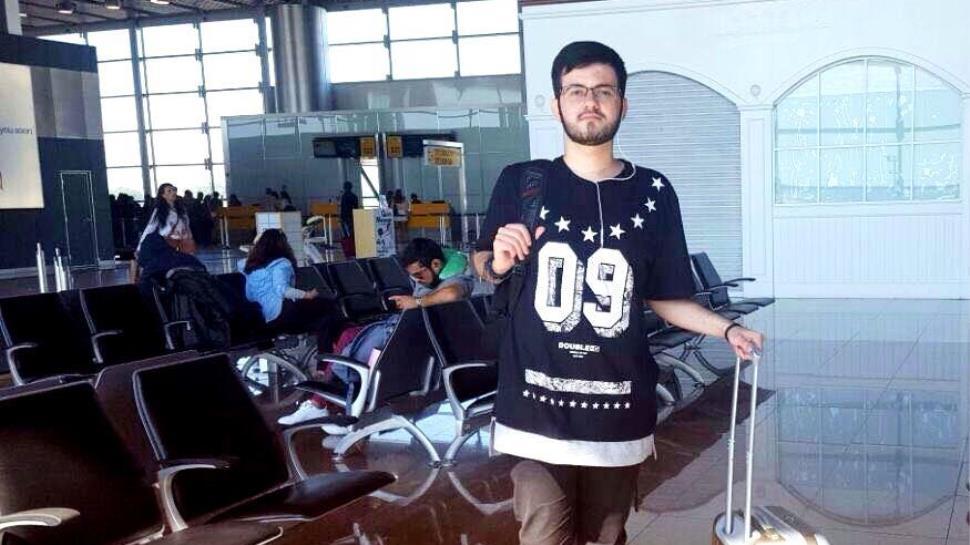 Estudante do Curso Técnico da IENH embarca em Intercâmbio para o Chile