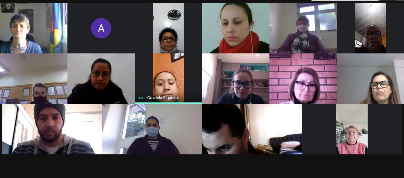 Funcionários da Instituição participam de reunião online com Comitê Covid19 IENH