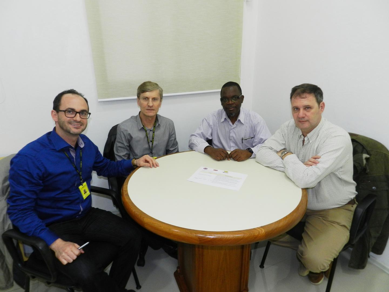 IENH dialoga com instituições de Moçambique e Uruguai visando parcerias internacionais