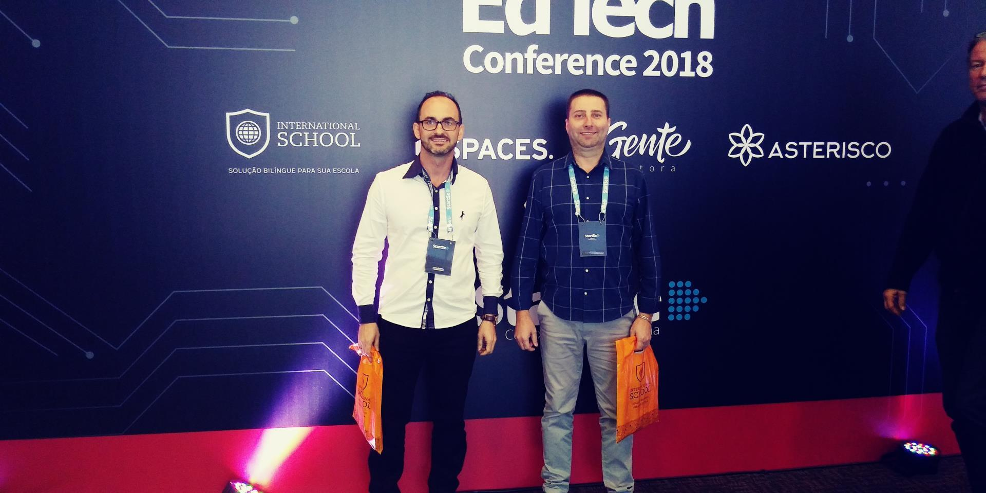 IENH participa do EdTech Conference 2018