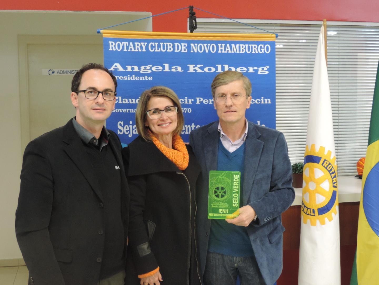 IENH recebe Selo Verde do Rotary Club pelas boas práticas ambientais