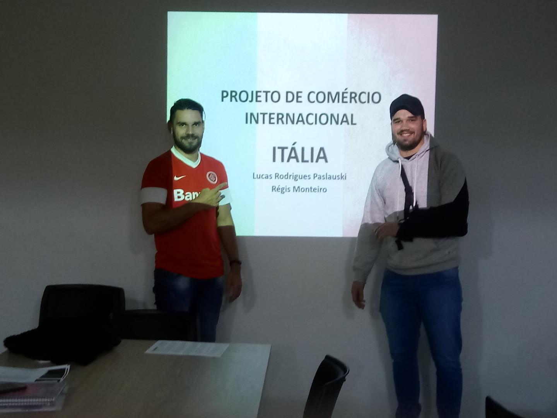 Internacionalização é trabalhada com estudantes dos Cursos Técnicos IENH