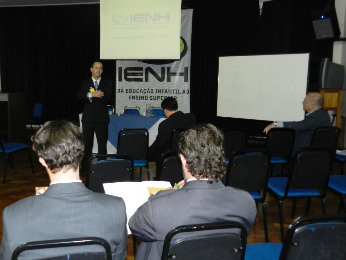 Primeiro Business Meeting realizado pelos Cursos Técnicos da IENH