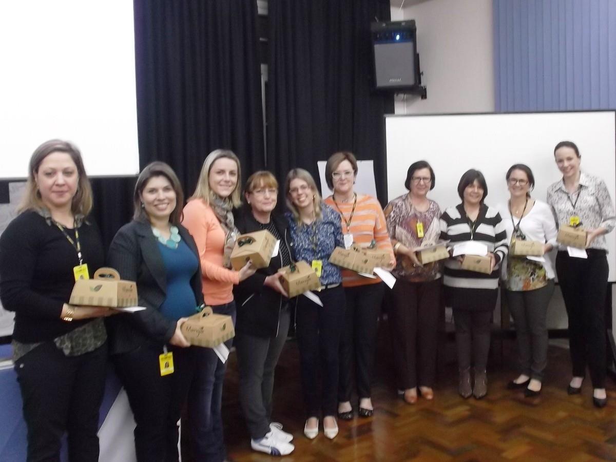 Homenagens para o Núcleo Pedagógico e Coordenações da IENH