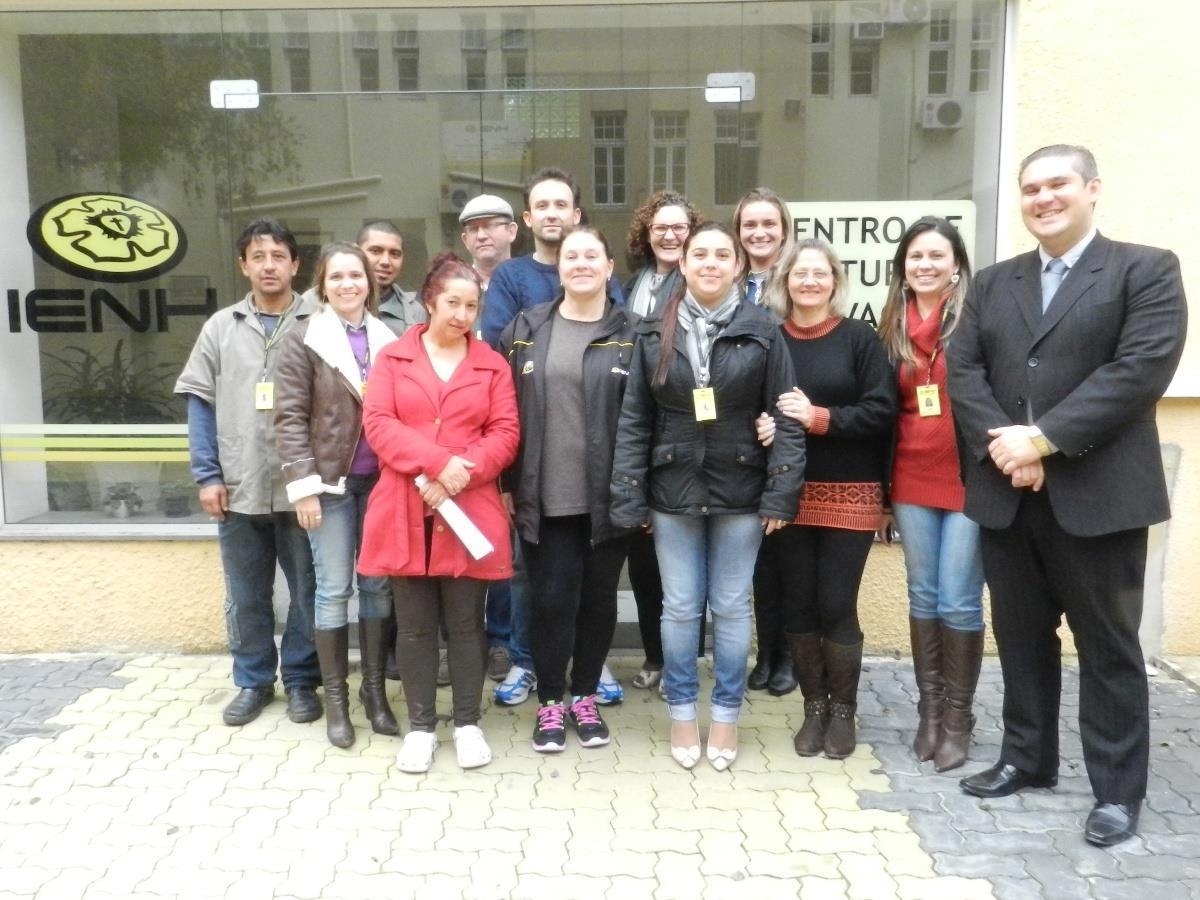 Colaboradores da IENH participam de Curso da CIPA