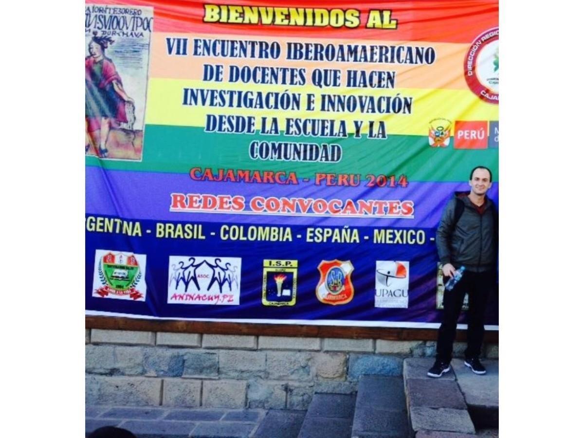 Coordenador Geral de Educação Profissional da IENH participa de evento no Peru