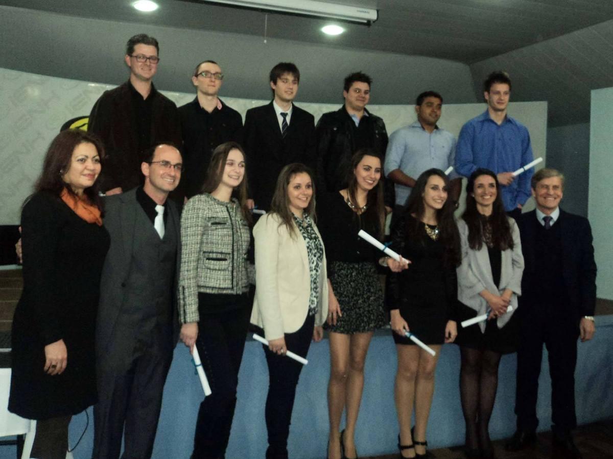 Formatura de Gabinete dos alunos dos Cursos Técnicos
