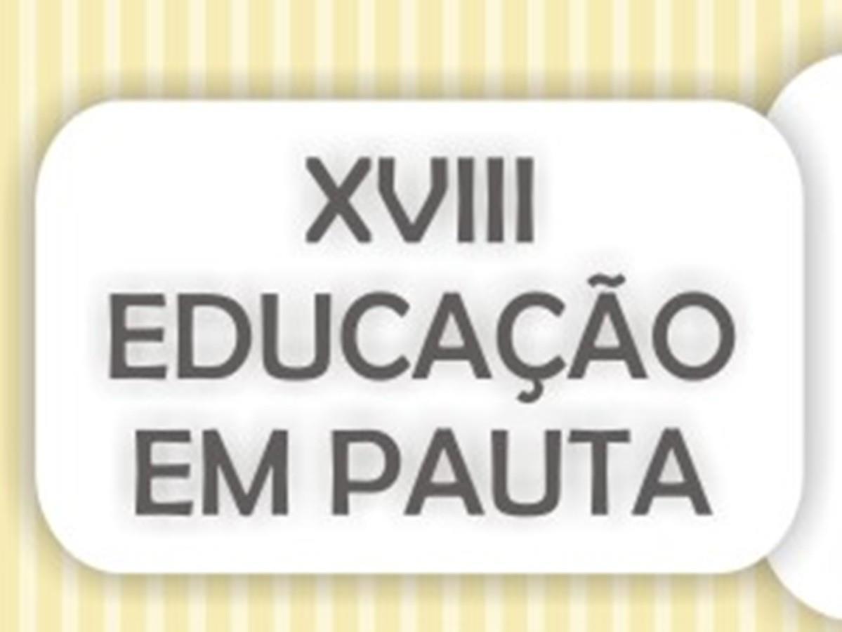 XVIII Educação em Pauta na IENH