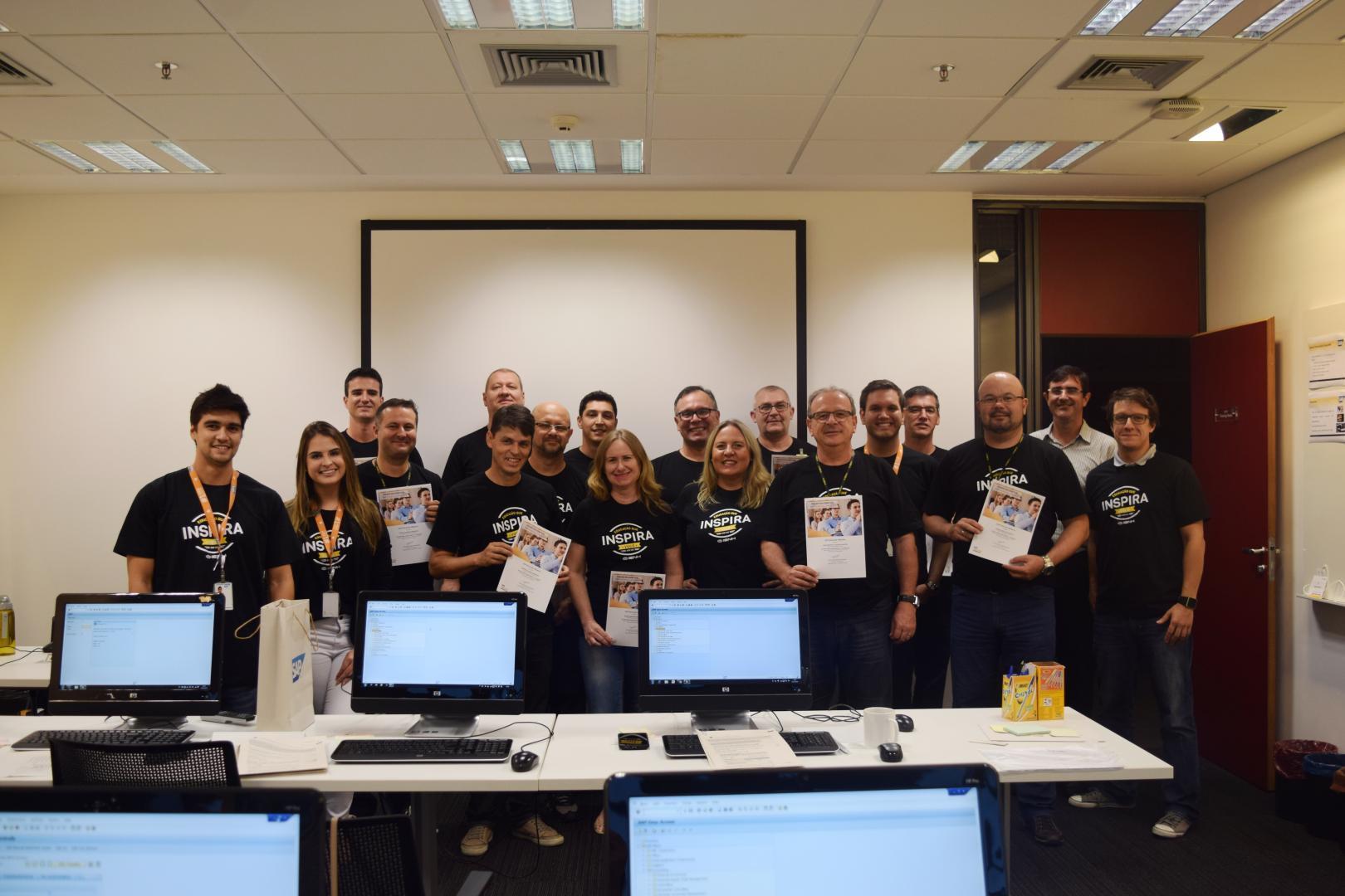 Professores da IENH concluem o segundo módulo de treinamento na SAP Labs Latin America