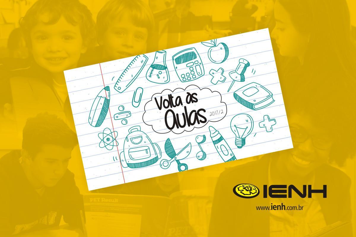 Segundo semestre letivo da IENH inicia nesta segunda-feira