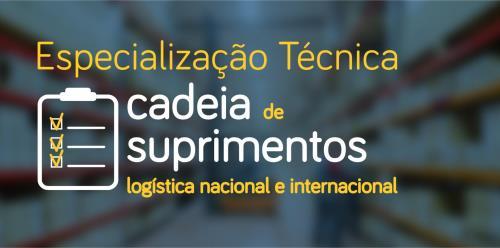 Especialização Técnica em Cadeia de Suprimentos