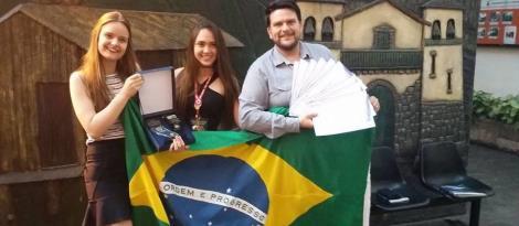 Estudantes da IENH conquistam o 1º lugar geral na Feira Internacional de Ciência e Tecnologia
