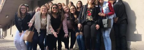 Estudantes da IENH realizam visita técnica em vinícolas da Serra Gaúcha