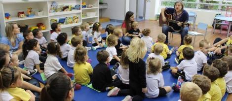 Hora do conto sobre os 500 anos da Reforma Luterana na Educação Infantil