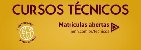 Inscrições para Bolsas de Estudo nos Cursos Técnicos da IENH seguem até sexta-feira