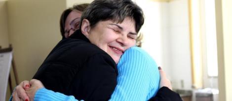 Integração no Dia do Abraço na IENH