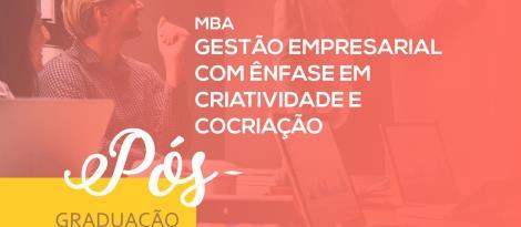 MBA em Gestão Empresarial com ênfase em Criatividade e Cocriação é promovido na IENH