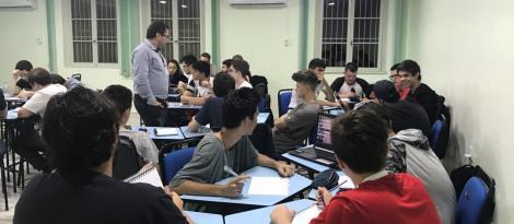 Modelagem de banco de dados é tema de aula aberta na IENH