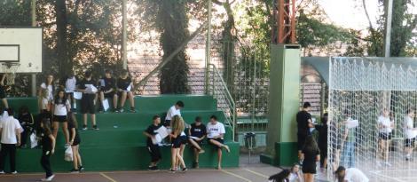 Alunos do Ensino Fundamental participam da primeira prova do PAS