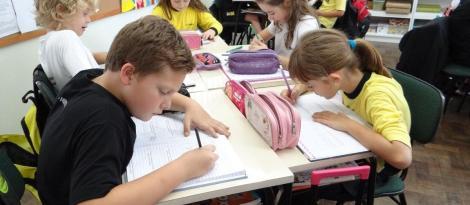 Histórias Matemáticas são resolvidas em Inglês no Currículo Bilíngue da IENH