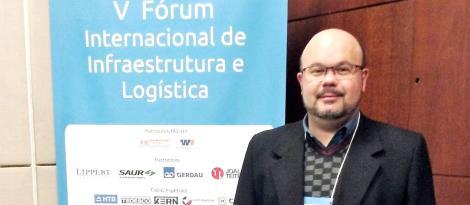 Professor da IENH participa do V Fórum Internacional de Infraestrutura e Logística