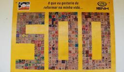 Placa comemorativa do Pindorama
