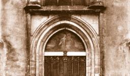 Porta da Igreja do Castelo de Wittenberg, onde Lutero afixou as 95 teses, em 31 de outubro de 1517