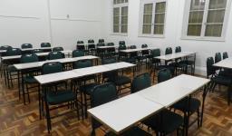 Sala de aula climatizada
